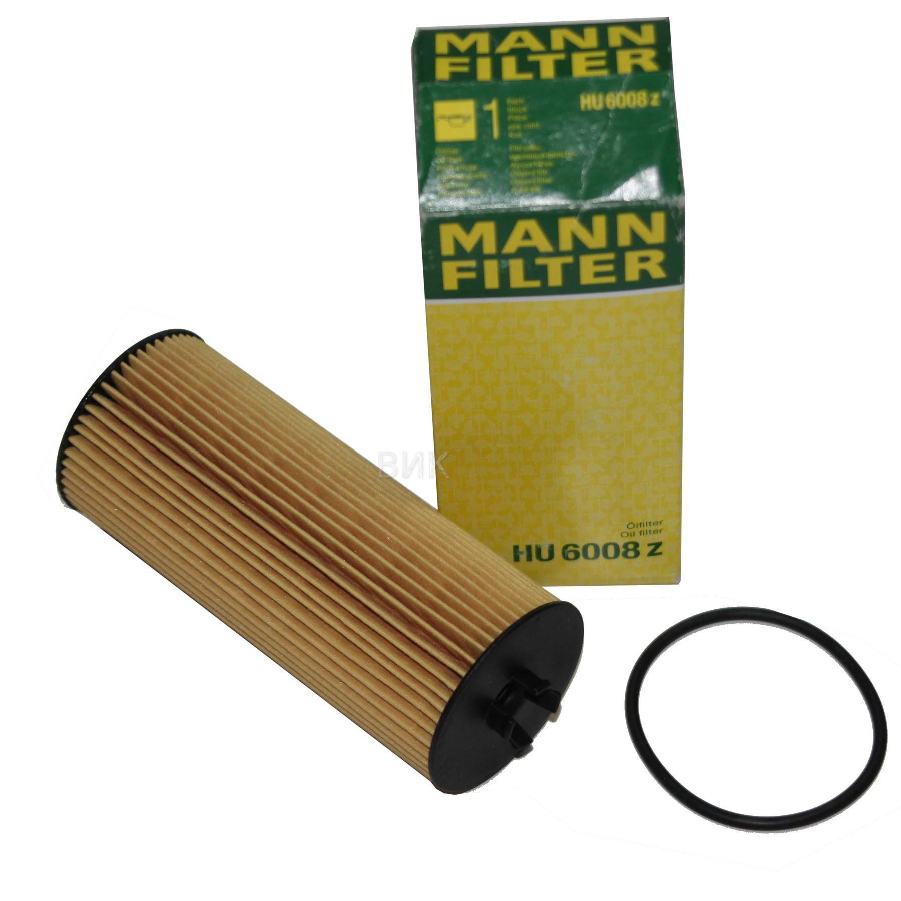 MANN-FILTER ÖLFILTER MERCEDES HU6008z
